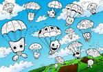 Gogo's Crazy Bones Skydiving