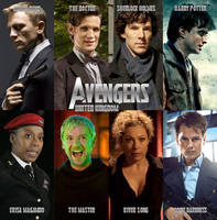 The Avengers UK by Scotty-Doo626