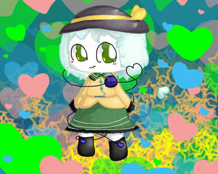 Parchaeater Koishi Komeiji by KirbyFangirl