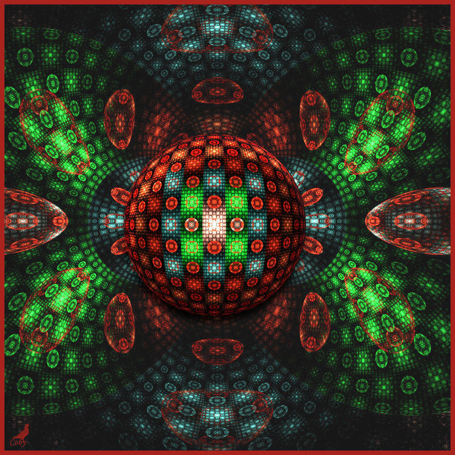 Christmas marble by coby on deviantart
