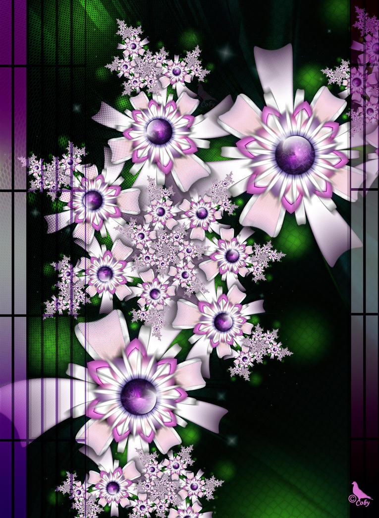 PurpleRain of Flowers by coby01