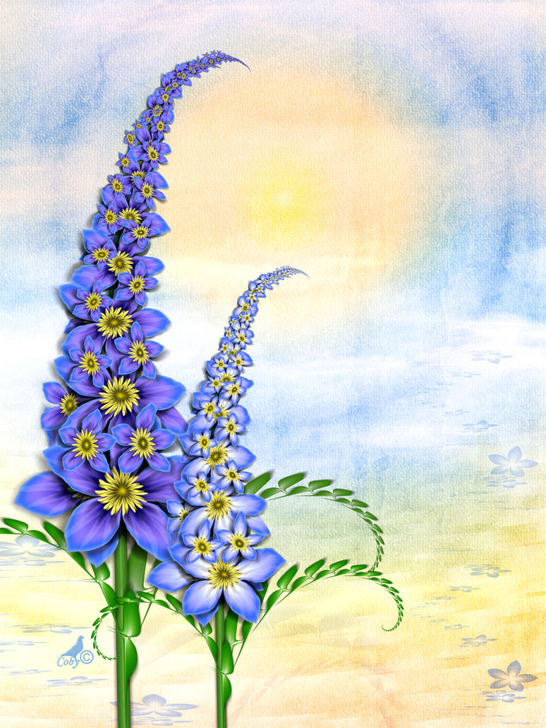 Delphinium by coby01