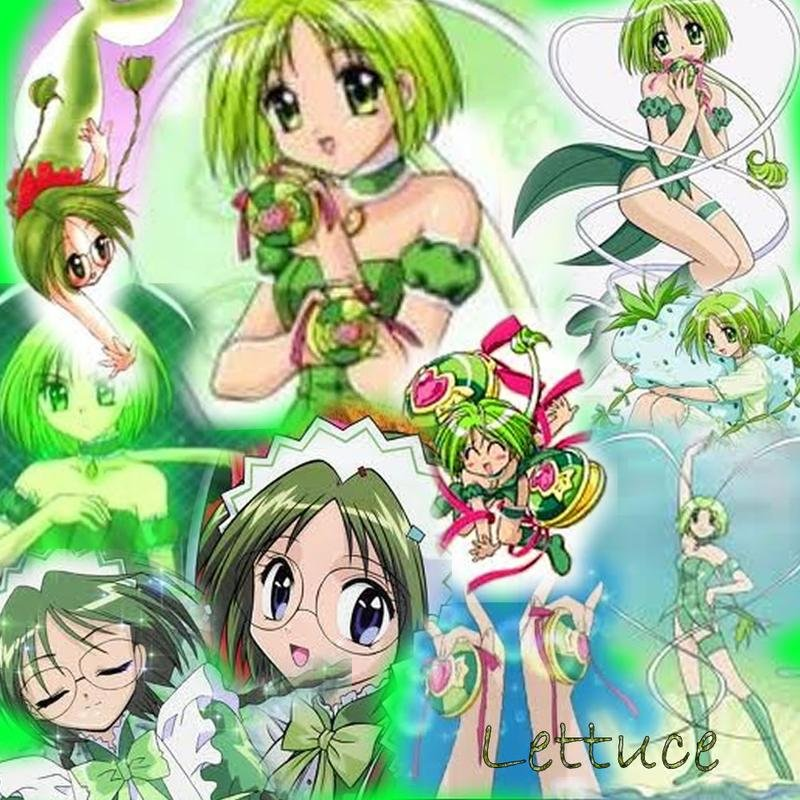 Mew Lettuce Collage by dawnflower8