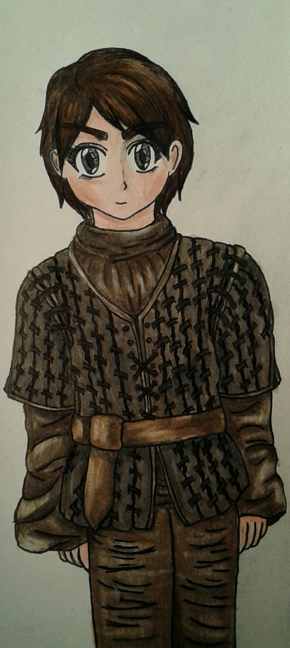 Arya Stark by dawnflower8