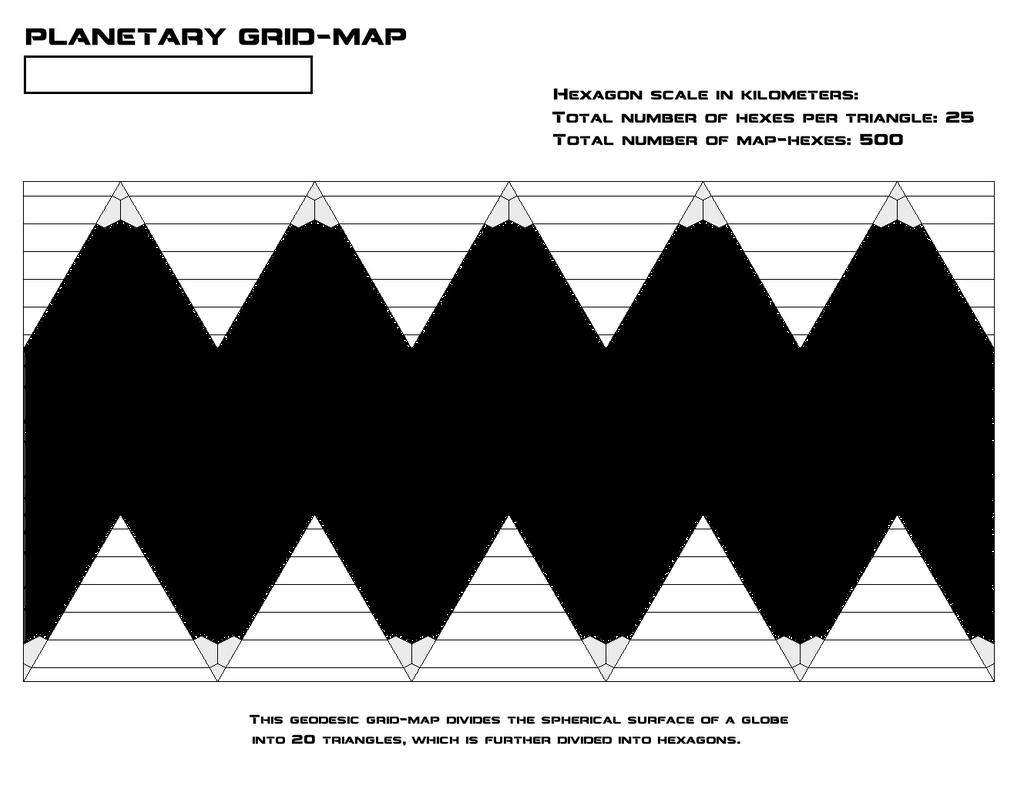Geodesic Hex Map Globe by Grimklok on DeviantArt