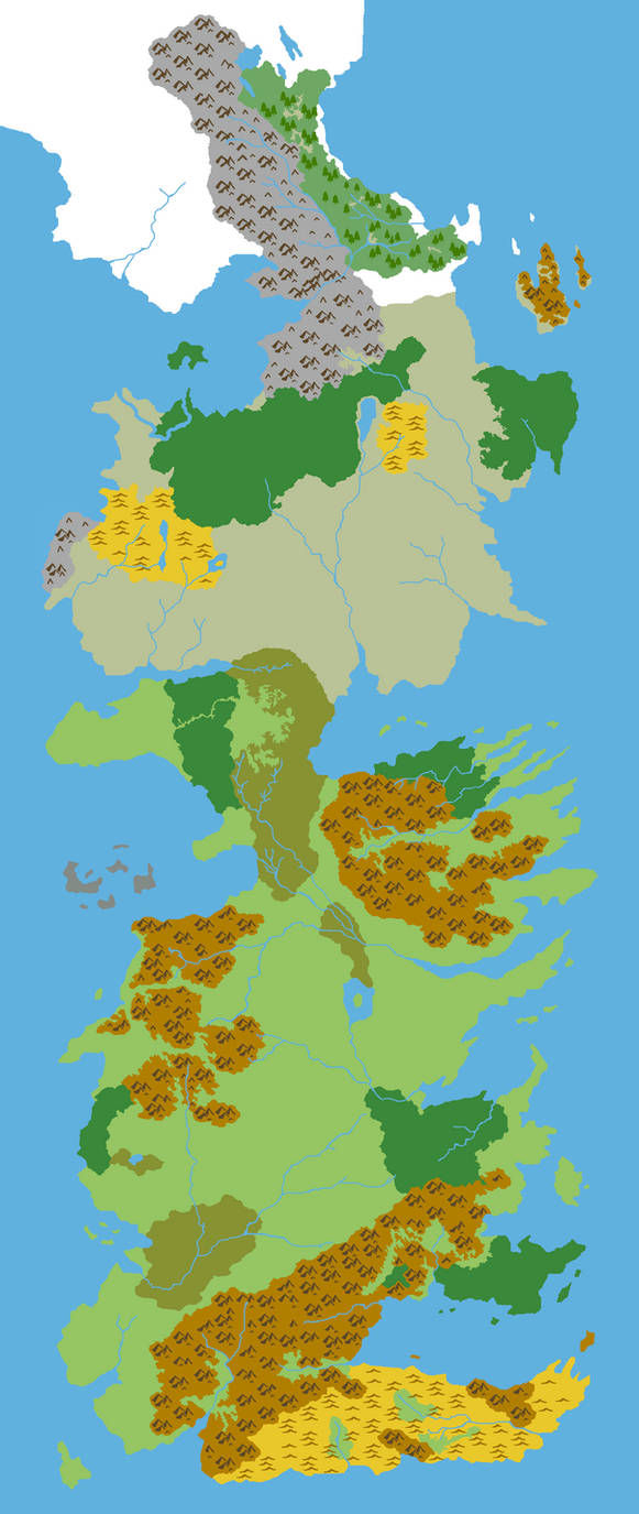 Westeros  Geophysical Only by Grimklok