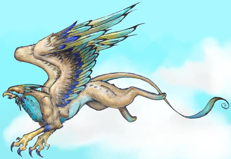 Griffin by nimuekaiba on deviantart - Animales mitologicos grifo ...