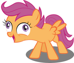 Scootaloo is Going Crazy by SpellboundCanvas