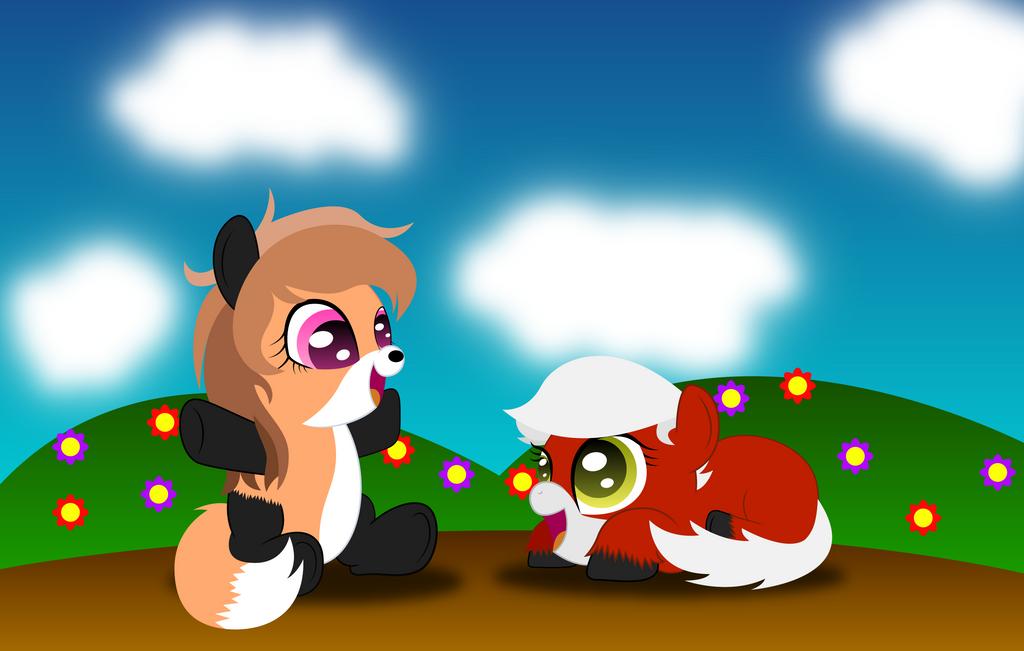 Wild Life Ponies by SpellboundCanvas