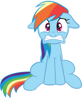 Rainbow Dash is in Trouble by SpellboundCanvas