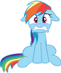 Rainbow Dash is in Trouble