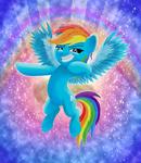 Rainbow Dash [ATG 2019-Day 5] by SpellboundCanvas