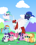 9 Years of Pony by SpellboundCanvas