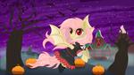 Flutterbat's Nightmare Night by SpellboundCanvas