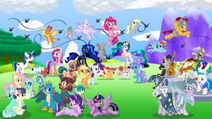 10 Years of Ponies [Mega Collab]