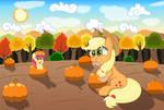 Pumpkin-Munchin by SpellboundCanvas