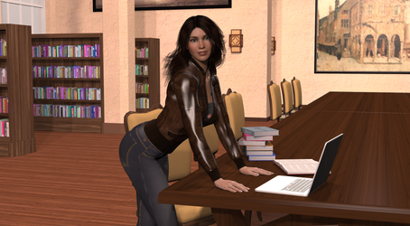 Library Study Session