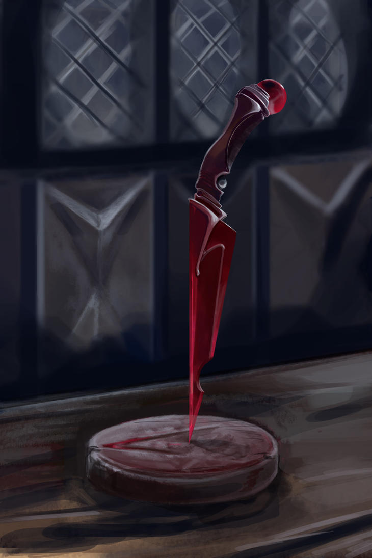 Crimson Dagger by grundalug