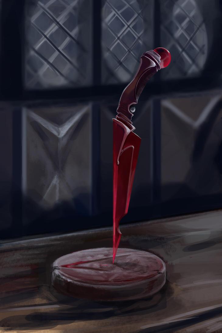 Crimson Dagger by grundalug