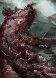 Tumorous Bulwark by grundalug