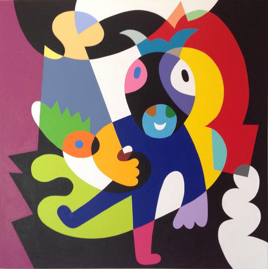 Dancing Cow by Koerie
