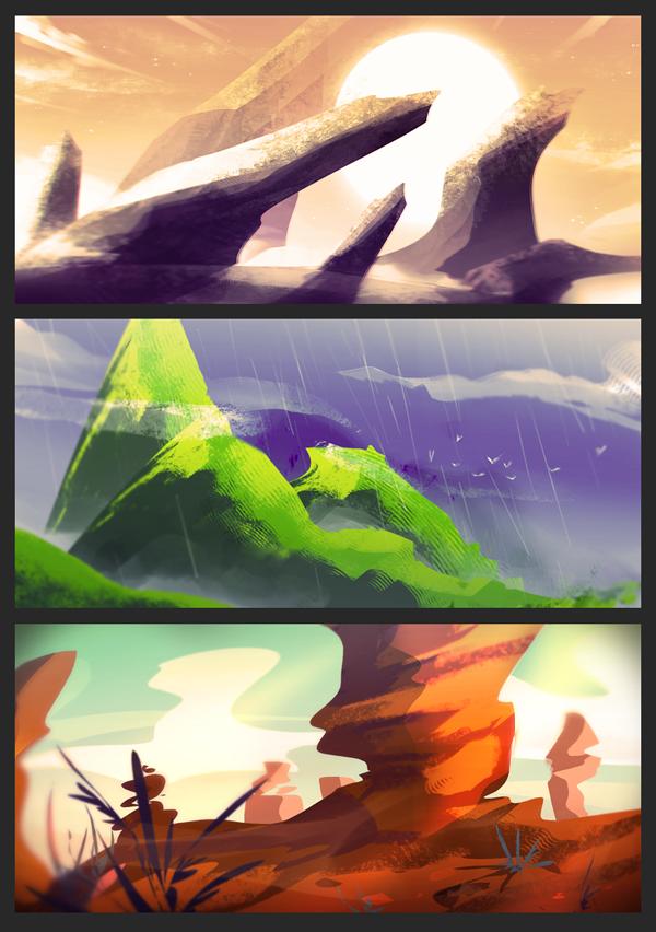 Buncha Rocks by rienlen