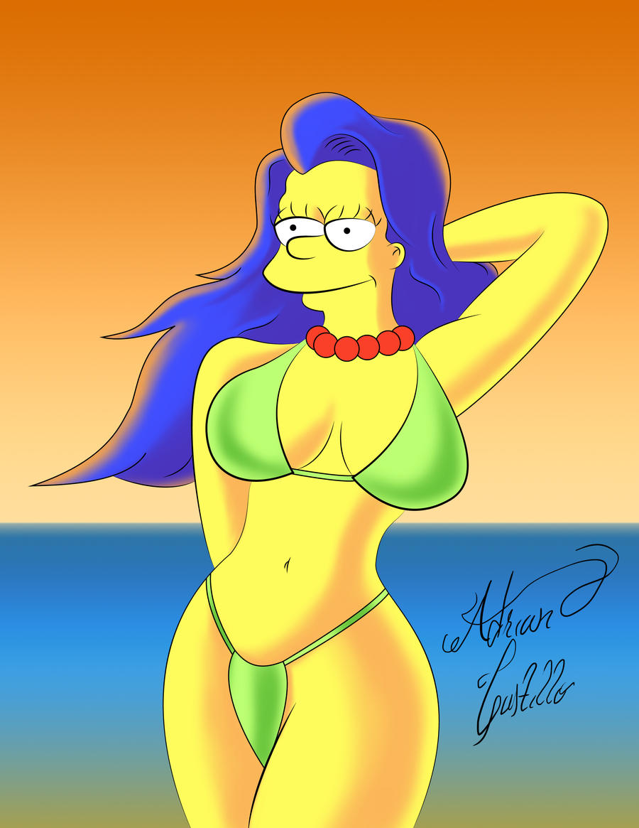 Marge Simpson by SWAVE18