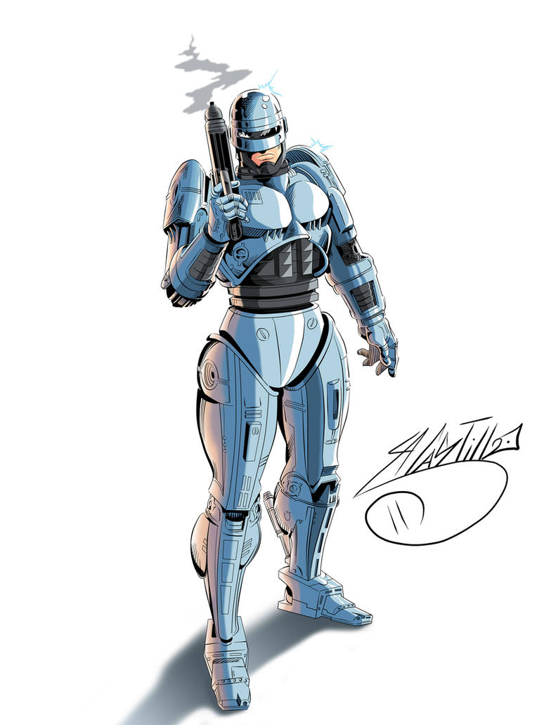 Robocop #1 by SWAVE18