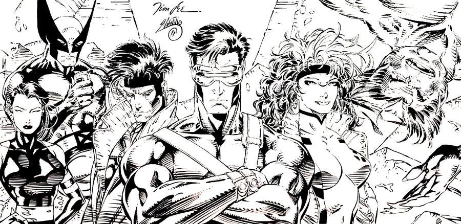 X-Men 90S Ink 1 By Swave18 On Deviantart-3368