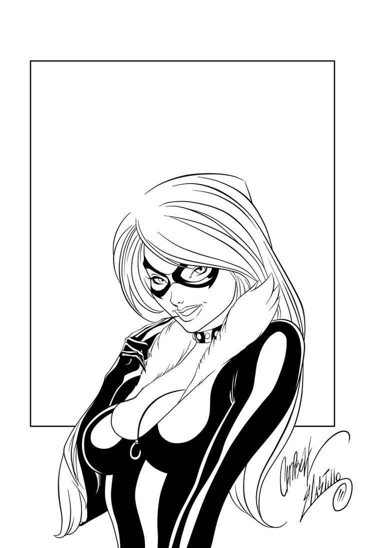 Black Cat Ink #5 by SWAVE18