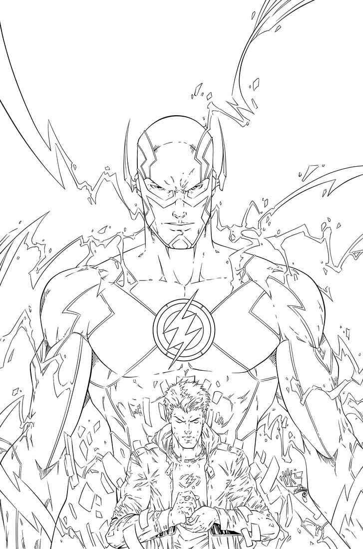 The Flash Line Art : The flash ink by swave on deviantart
