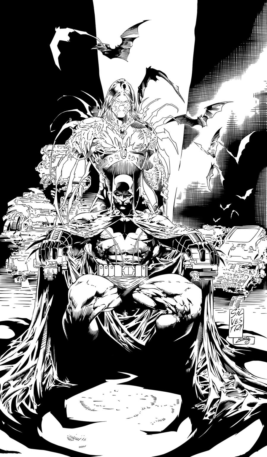 Batman and Darkness Ink #1 by SWAVE18