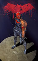 Red Hood on Spotlight Colored by SWAVE18