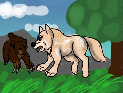 Leaf Bear Hunt 1 by Dorosaury