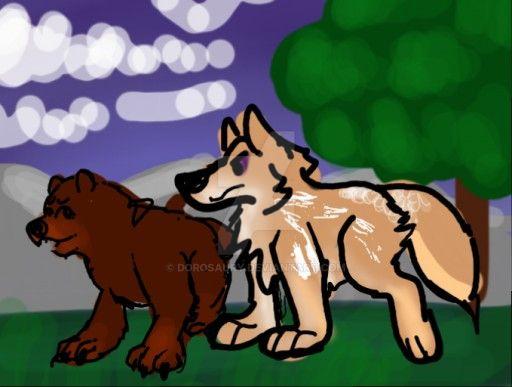 Leaf Bear Hunt 2 by Dorosaury