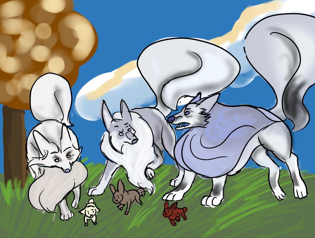 Rabbit Hunting by Dorosaury