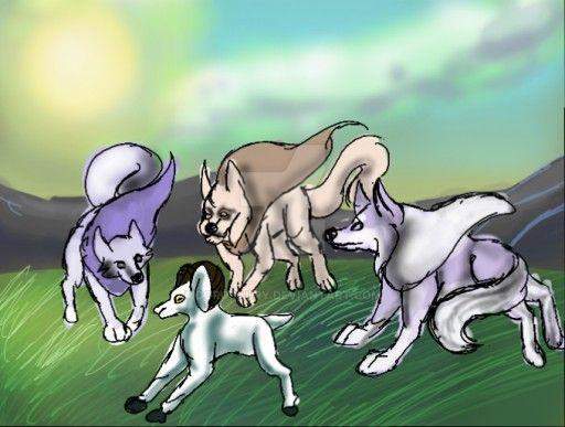 Goat Hunting by Dorosaury