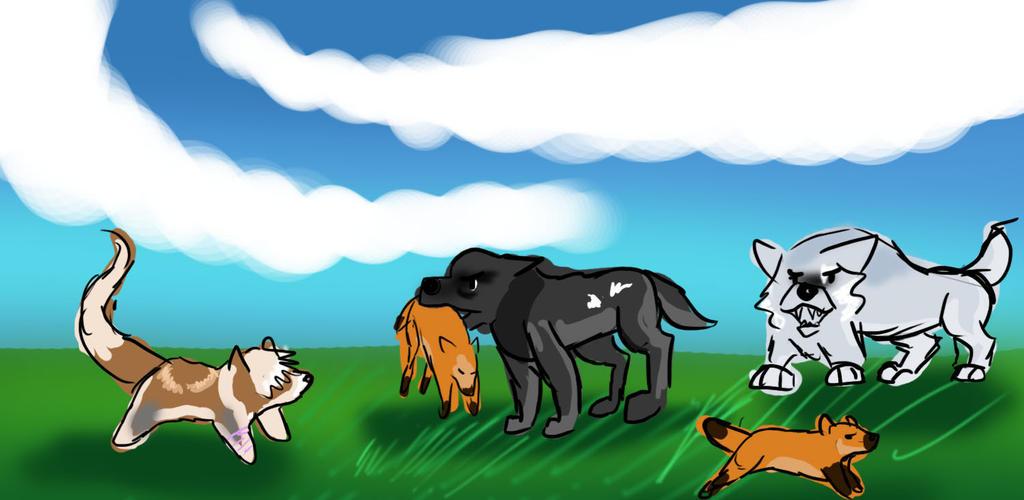 Hunting 1-1 by Dorosaury