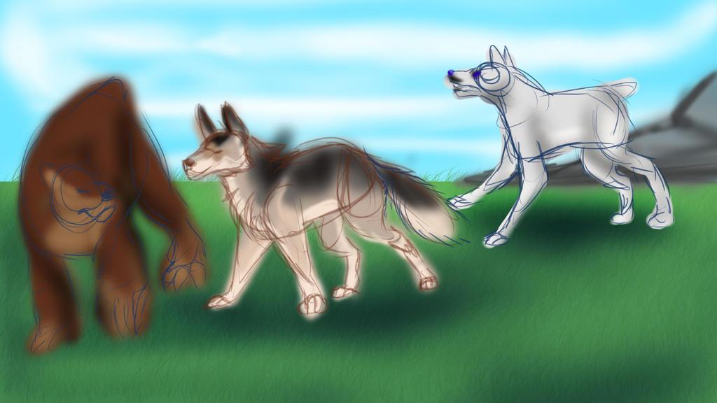 Tokota Hunting 2-5 by Dorosaury