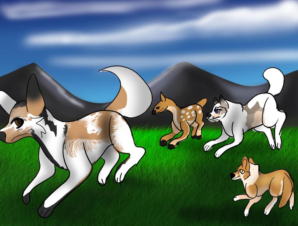 Hunting 1-2 by Dorosaury