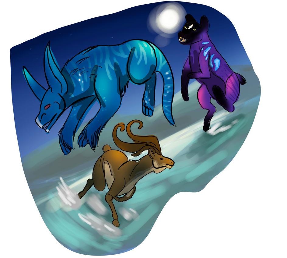 Hunting 1-7 by Dorosaury