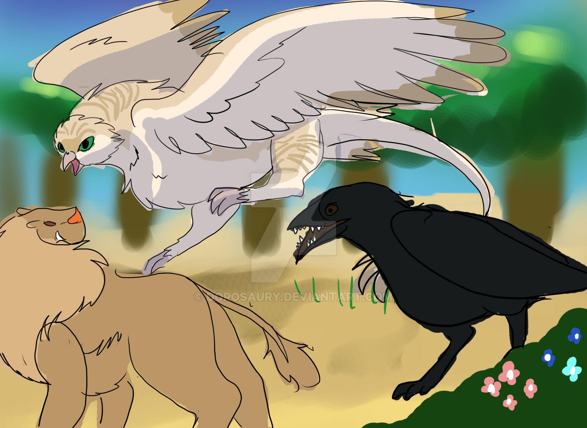 Quick stryx lion hunt by Dorosaury