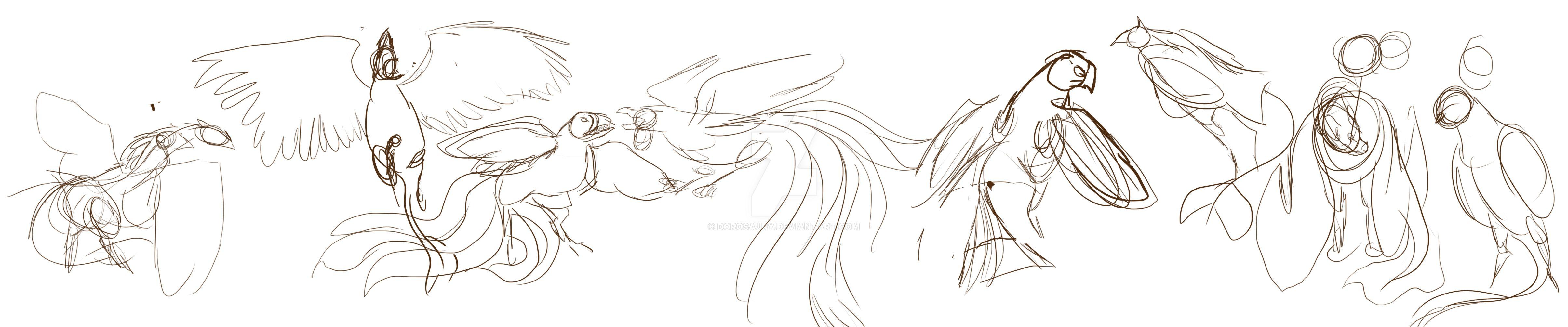 Nocturnal Birds by Dorosaury