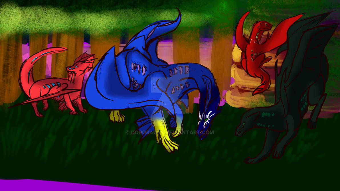Gathering 2 by Dorosaury