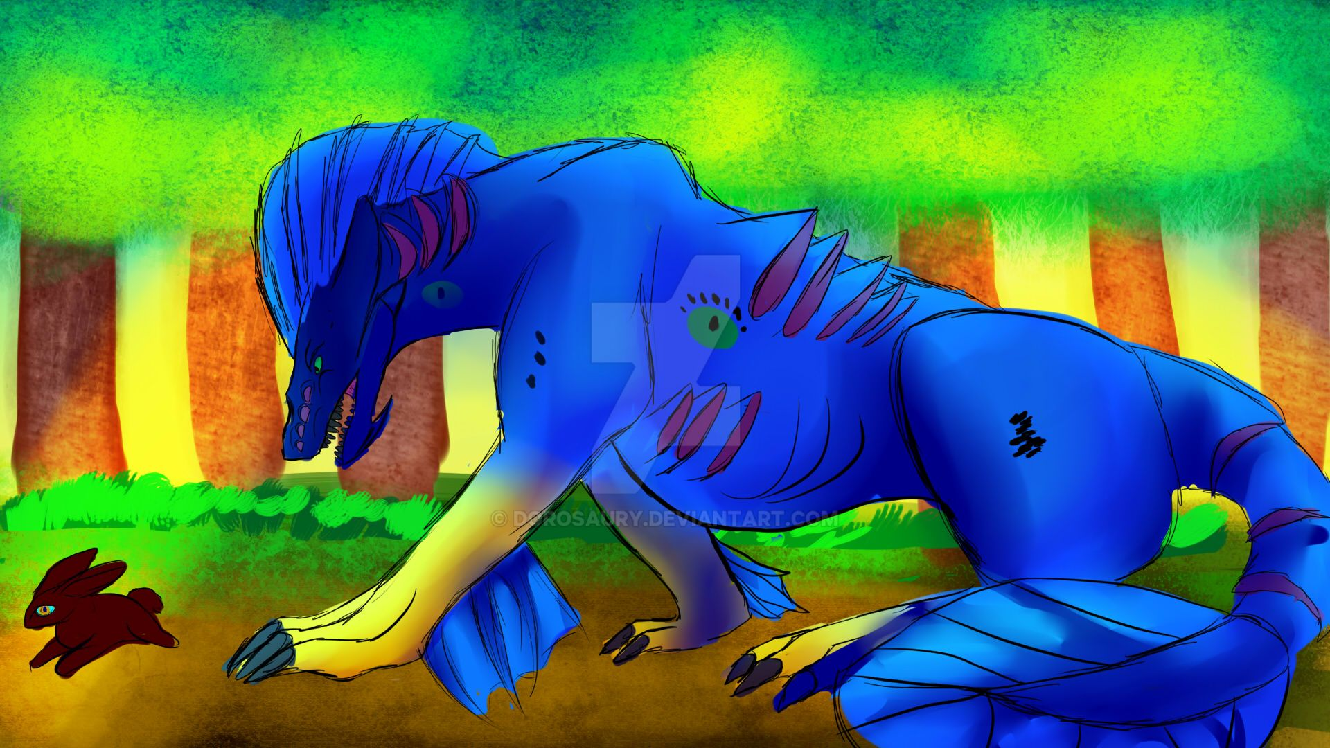 Hunting by Dorosaury