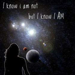 I know I am but I know I AM by sunriselights