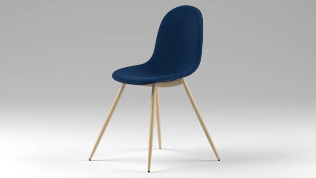 Scandinavian Modern Chair by guitcho