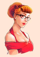 Back to the fifties by oOCherry-chanOo