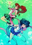 Sailor Mercury X Jupiter !!