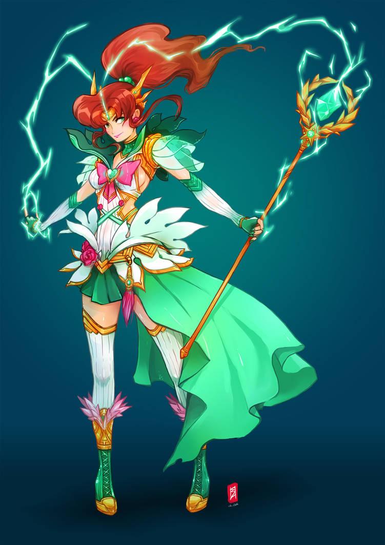 Sailor Jupiter RPG by oOCherry-chanOo
